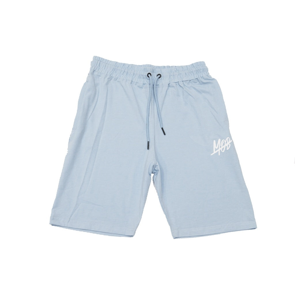 MOB SLASH SHORTS (BABY BLUE)
