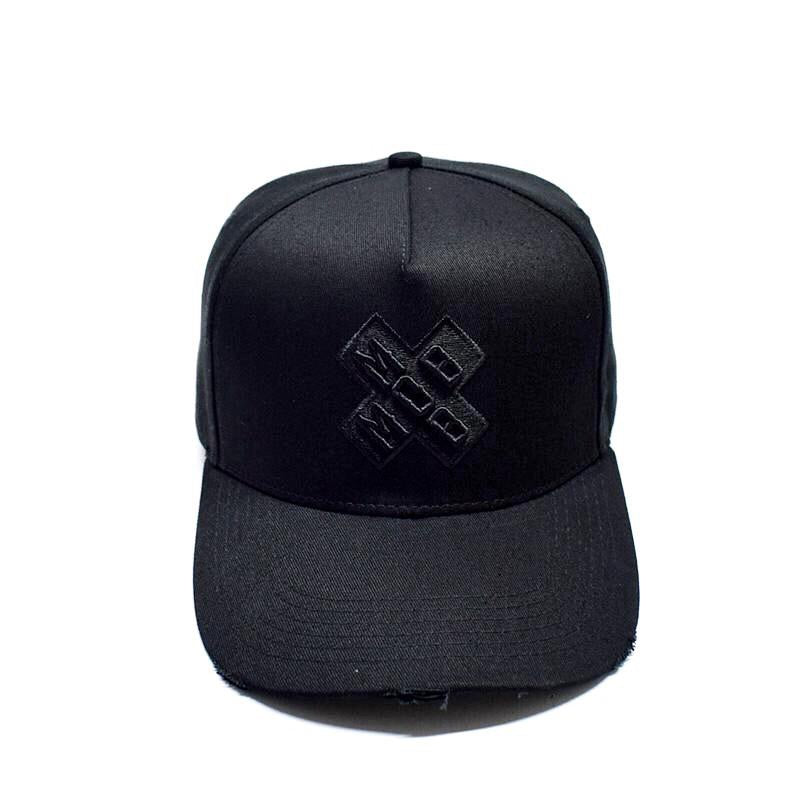 SIGNATURE MOB BASEBALL CAP (BLACK ON BLACK)