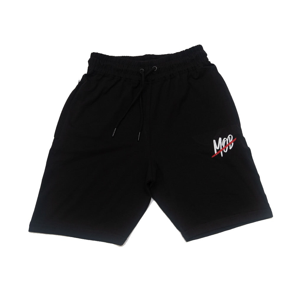 MOB SLASH SHORTS (BLACK)
