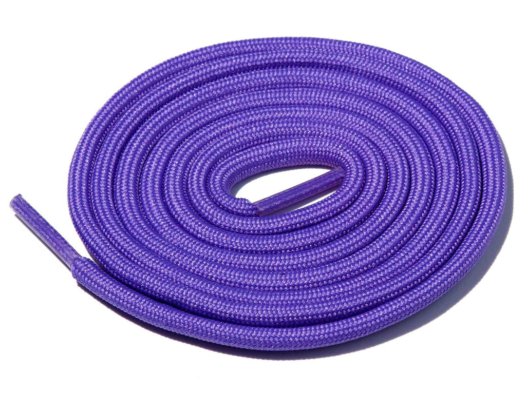 Lace Supply Co Purple Lilac Solid Rope Laces