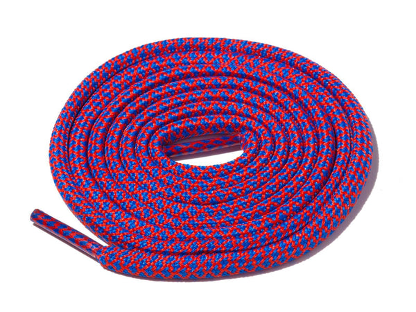 Blue & Red Rope Laces Dual Lace Supply Co
