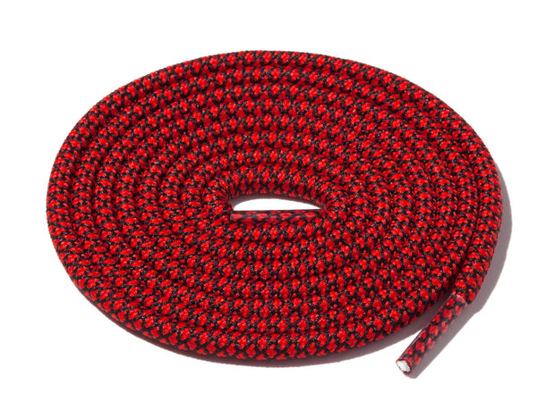 Lace Supply Co Red & Black Rope Laces Dual