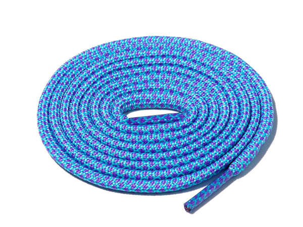 Lace Supply Co Purple & Blue  Rope Laces Dual