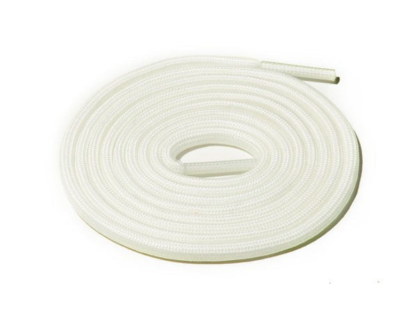 Lace Supply Co White Glow In The Dark Rope Laces