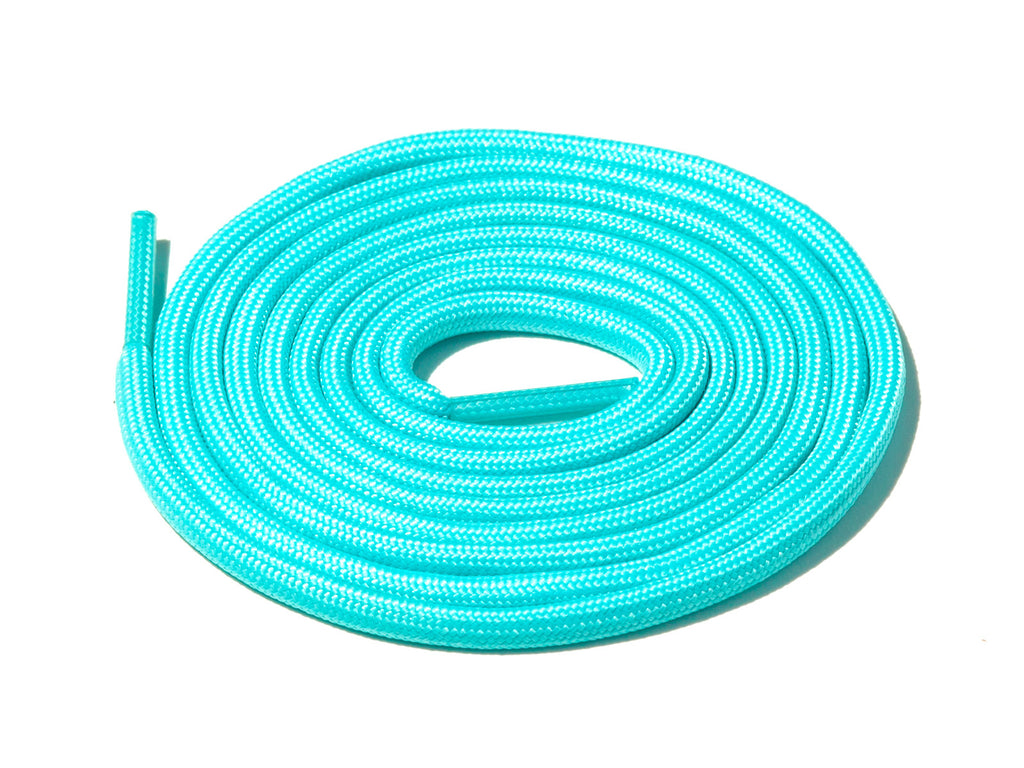 Lace Supply Co Aqua Blue Glow In The Dark Rope Laces
