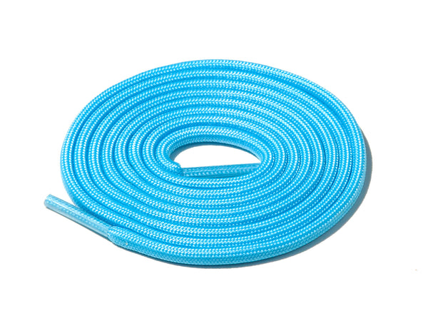 Blue Glow In The Dark Rope Laces Lace Supply Co