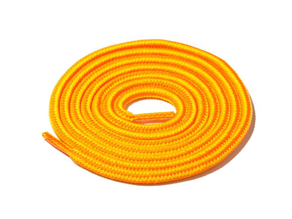 Lace Supply Co Yellow & Orange Striped Rope Laces