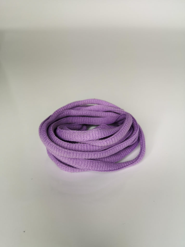 Violet Oval Solid Colour Laces