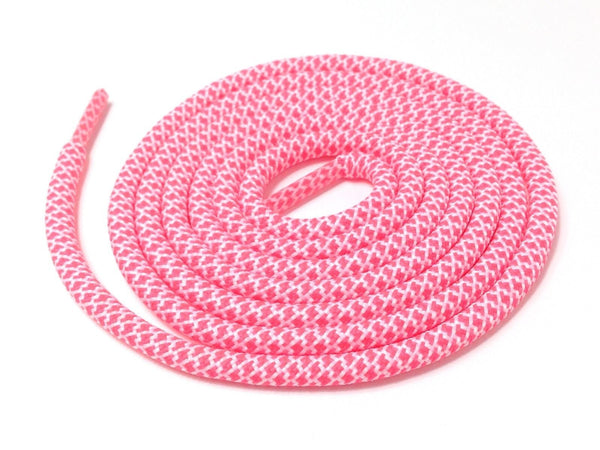 Lace Supply Co Pink & White Rope Laces Dual