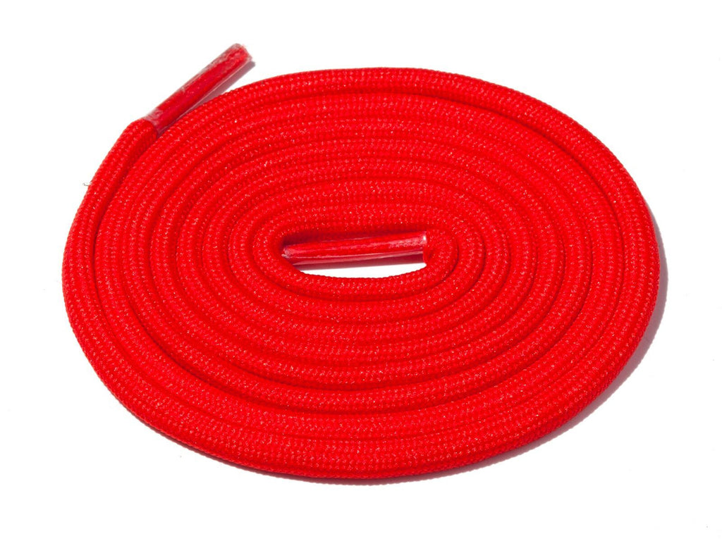 Lace Supply Co Red Solid Rope Laces