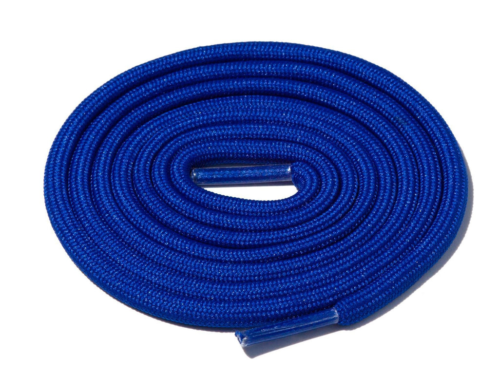 Blue Solid Rope Laces Lace Supply Co
