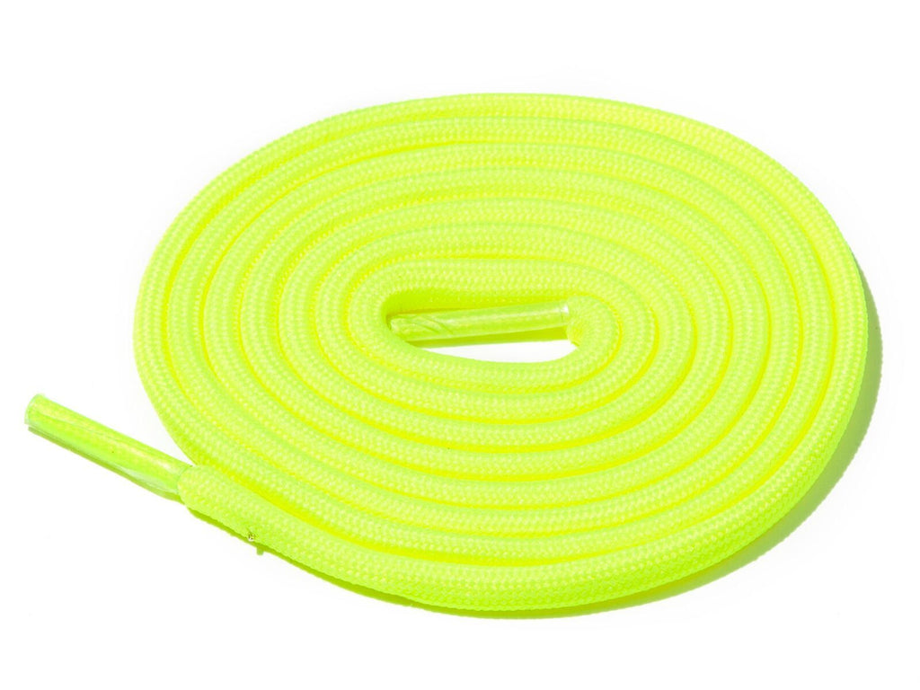 Lace Supply Co Neon Yellow Solid Rope Laces