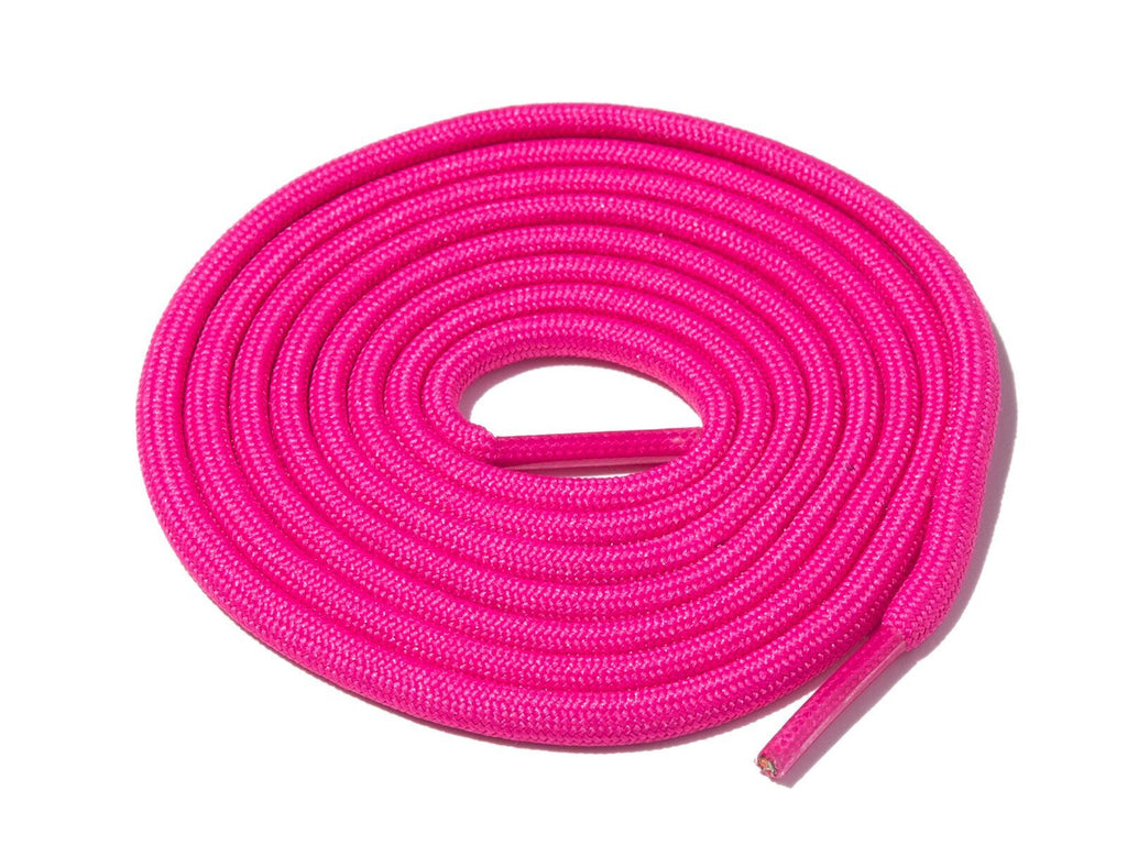 Lace Supply Co Pink Solid Rope Laces