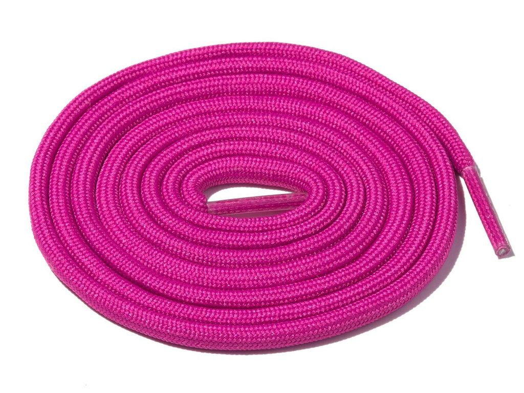 Deep Pink Solid Rope Laces Lace Supply Co