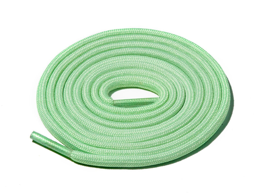 Lace Supply Co Tea Green Solid Rope Laces