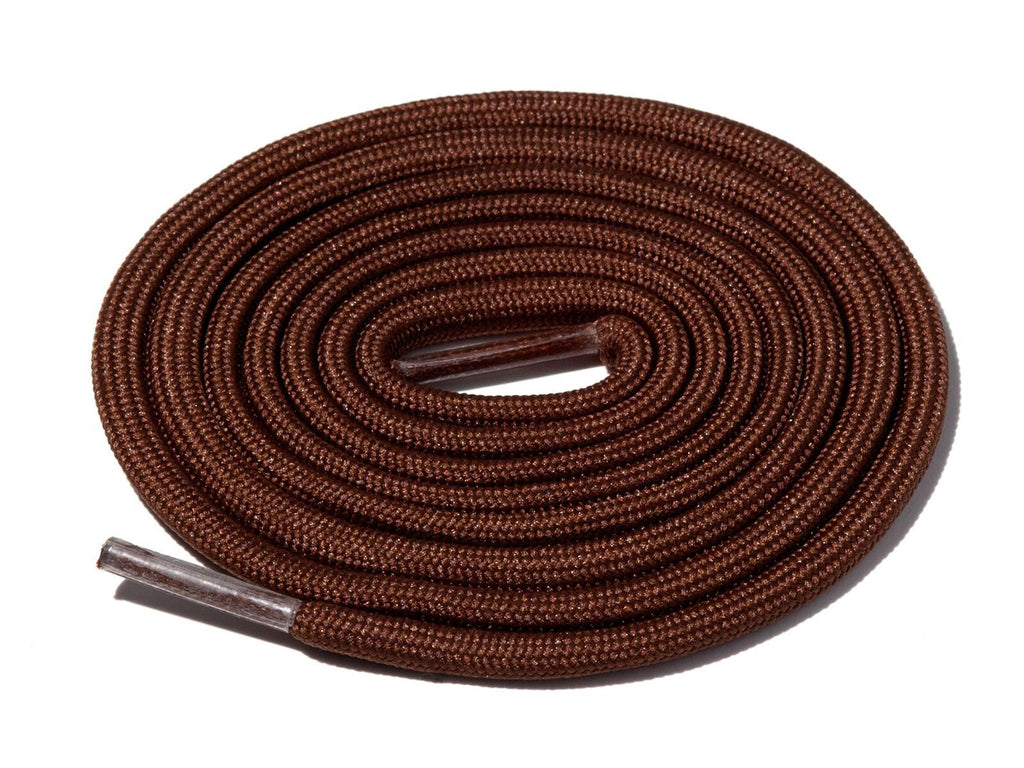 Brown Solid Rope Laces Lace Supply Co
