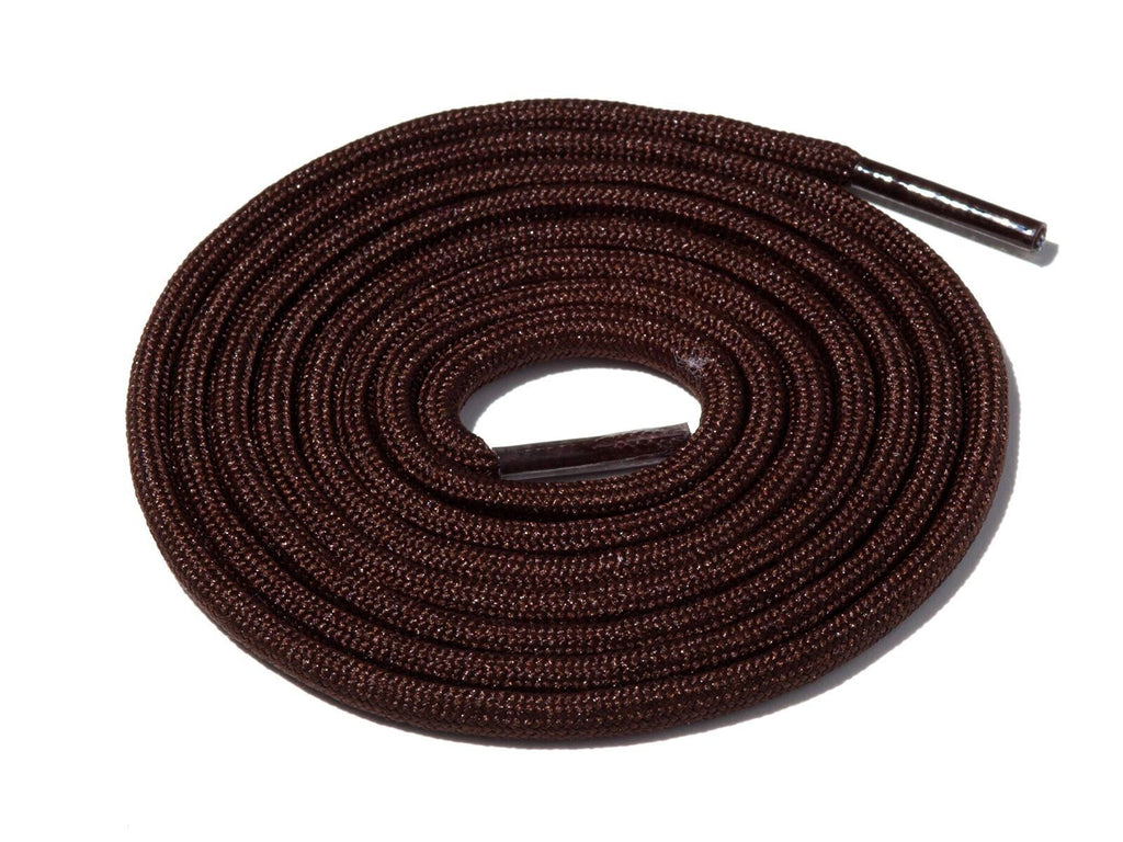 Dark Chocolate Solid Rope Laces Lace Supply Co
