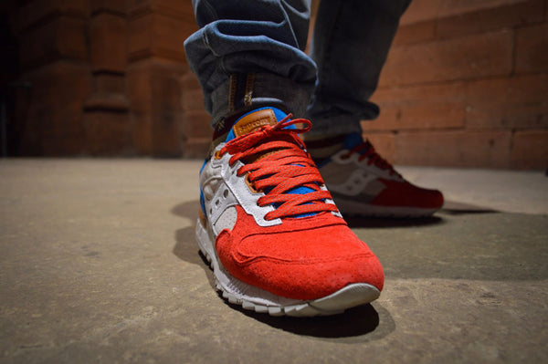 Saucony God of Taras Lace Supply Co. Red 3m Laces SNEAKERS76 SHADOW 5000
