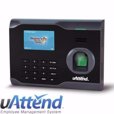uAttend BN6500 Fingerprint Time Clock