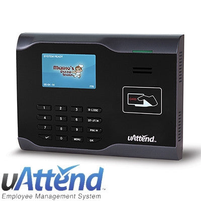 uAttend CB6500 Proximity Card Time Clock