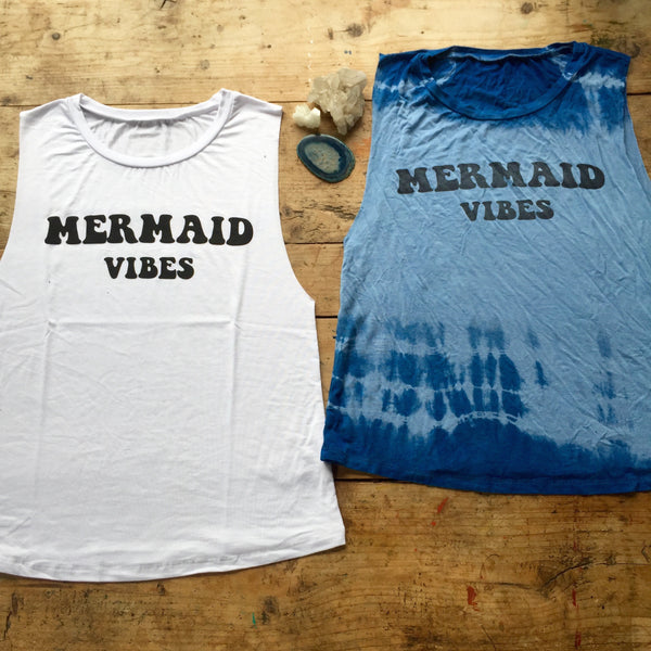 *                  Women's Mermaid Vibes Tank   *