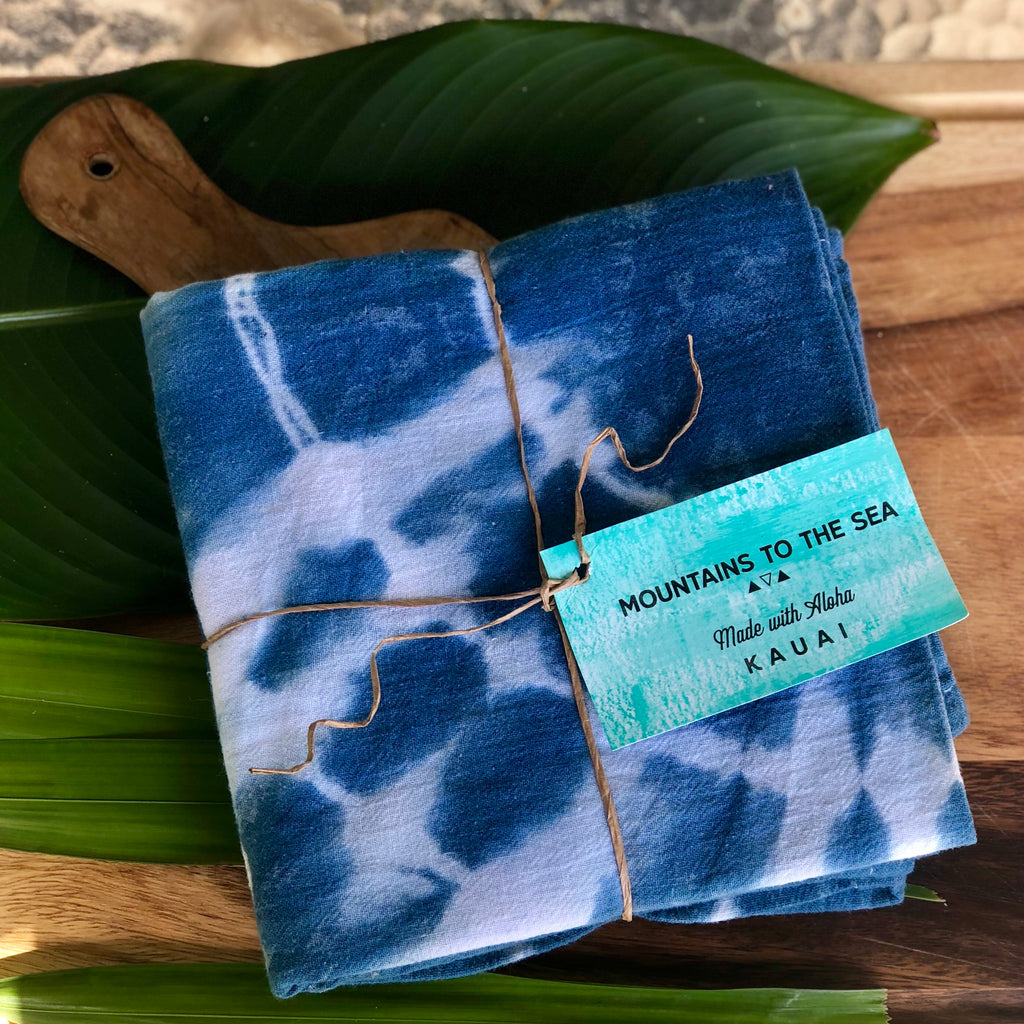 Indigo Flour Sack Towels