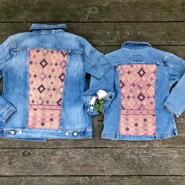 **Vintage Levi Rebirth Jacket's (Mama-Daughter Set)