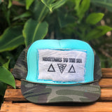**Mountains to the Sea Patch Trucker Hats