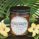 *CoconutWax+BeesWax Candle : PUAKENIKENI