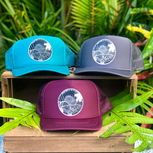 KID'S KAUAI LOGO TRUCKER HATS