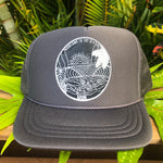 **KID'S KAUAI LOGO TRUCKER HATS