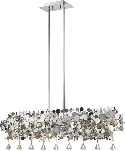 Z-Lite 1001-42CH 8 Light Pendant Monaco Collection Chrome Finish - ZLiteStore