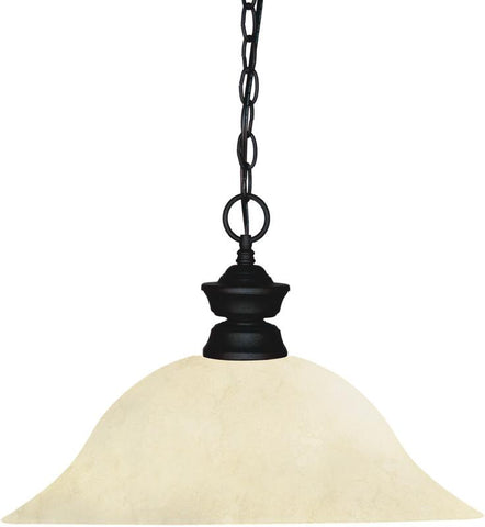 Z-Lite 100701MB-GM16 1 Light Pendant Shark Collection Golden Mottle Finish - ZLiteStore