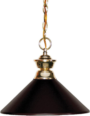 Z-Lite 100701PB-MBRZ 1 Light Pendant Shark Collection Bronze Finish - ZLiteStore