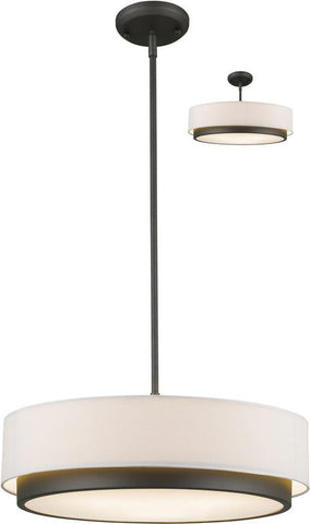 Z-Lite 196-22 3 Light Convertible Pendant Jade Collection White Finish - ZLiteStore