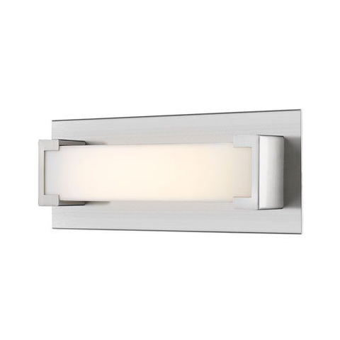 1-Light Wall Sconce with Frosted Acrylic Shade