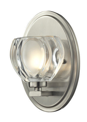 Z-Lite 3022-1V-LED Hale Collection Brushed Nickel Finish 1 Light Vanity Light