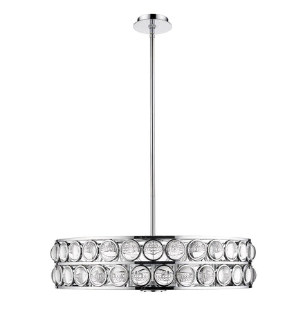 Z-Lite 4004-30CH Eternity Collection 8 Light Chandelier Chrome Finish