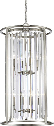 Z-Lite 439-8BN 8 Light Chandelier Monarch Collection Clear Finish - ZLiteStore