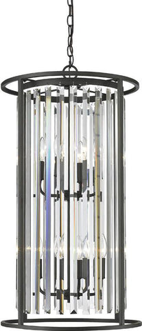 Z-Lite 439-8BRZ 8 Light Chandelier Monarch Collection Clear Finish - ZLiteStore