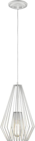 Z-Lite 442MP-WH 1 Light Mini Pendant Quintus Collection - ZLiteStore