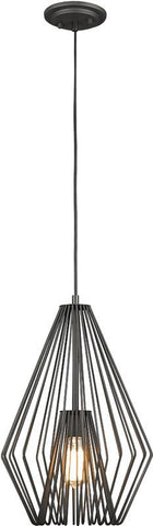 Z-Lite 442MP12-BRZ 1 Light Mini Pendant Quintus Collection - ZLiteStore