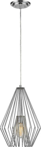 Z-Lite 442MP12-CH 1 Light Mini Pendant Quintus Collection - ZLiteStore