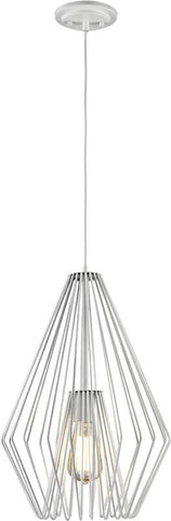 Z-Lite 442MP12-WH 1 Light Mini Pendant Quintus Collection - ZLiteStore