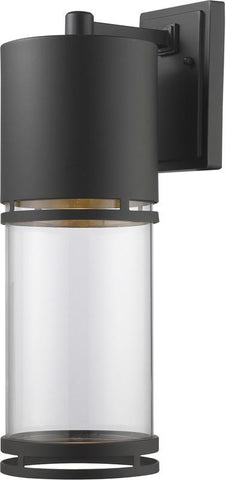 Z-Lite 553B-ORBZ-LED Outdoor LED Wall Light Luminata Collection Clear Glass Finish - ZLiteStore