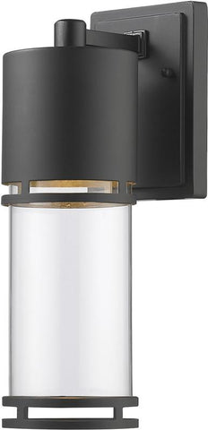 Z-Lite 553M-ORBZ-LED Outdoor LED Wall Light Luminata Collection Clear Glass Finish - ZLiteStore