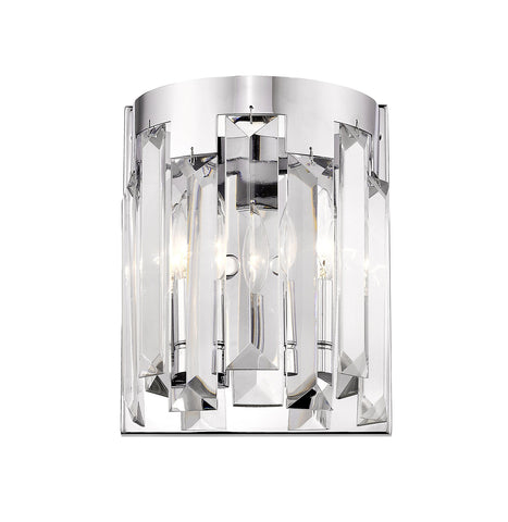 Z-Lite 6009-2S-CH Cormac Collection 2 Light Chandelier Chrome Finish