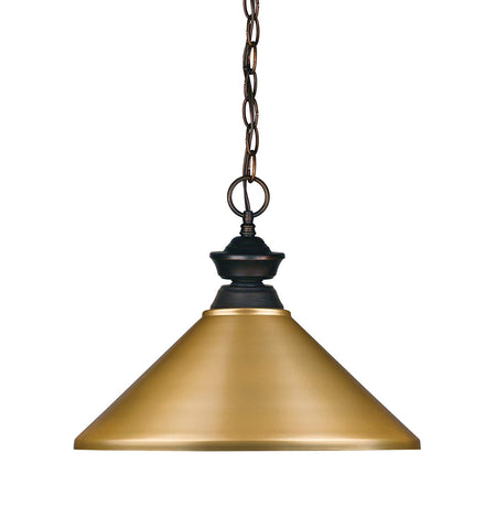 Z-Lite 100701OB-MSG 1 Light Pendant 1