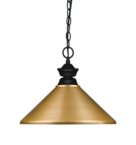 Z-Lite 100701MB-MSG 1 Light Pendant 1