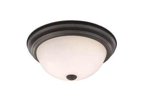 Z-Lite 4001F11-MO-BRZ 2 Light Flush Mount 2